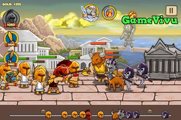 game Chien binh than thoai hinh anh 3
