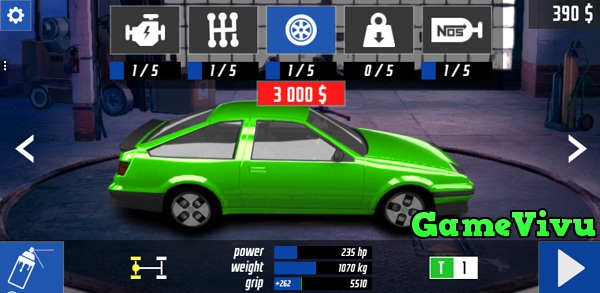 game Dua xe Drag racing club