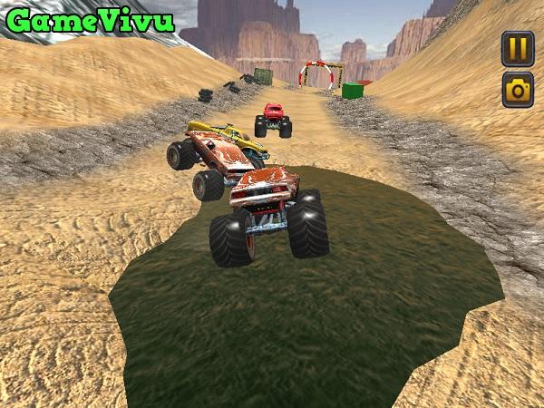 game Dua xe vuot dia hinh 3D hinh anh 2