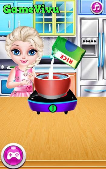 game Elsa lam sushi hinh anh 1