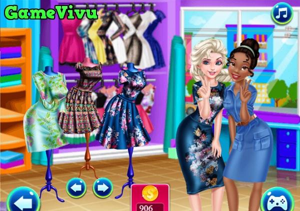 game Elsa shopping hinh anh 1