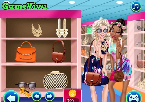 game Elsa shopping hinh anh 2