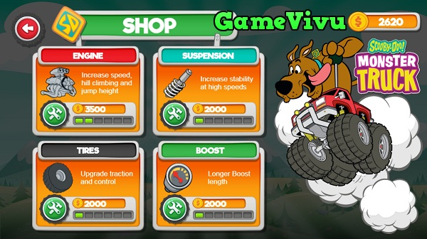 game Scooby Doo dua xe tai hinh anh 3