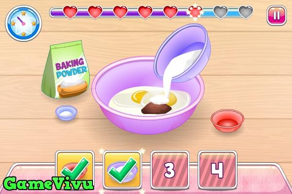 game Tap lam cupcake 3 hinh anh 1