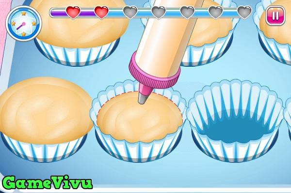 game Tap lam cupcake 3 hinh anh 2