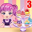 Tập làm cupcake 3