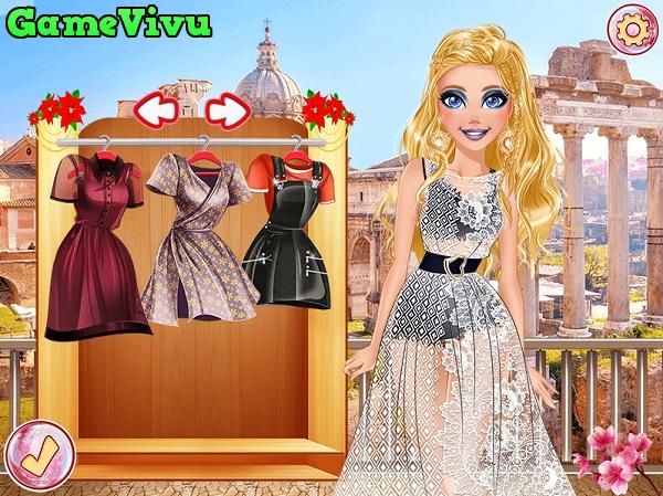 game Tuan le thoi trang Barbie hinh anh 2