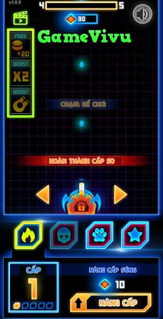 game Ban bong Neon 2 hinh anh 2