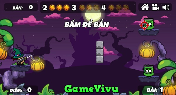 game Ban ha quai vat Halloween hinh anh 1