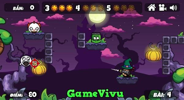 game Ban ha quai vat Halloween hinh anh 3