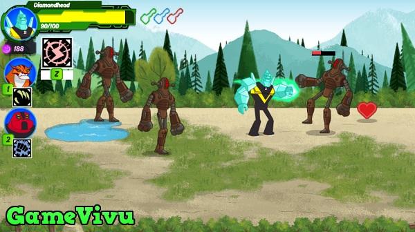 game Ben 10 Omnitrix nhiem virus hinh anh 1