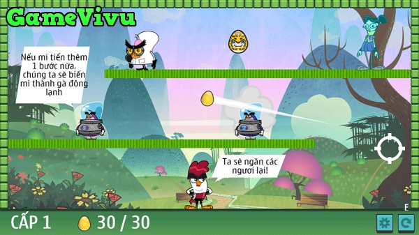 game Chu ga Kungfu chuck chicken magic egg