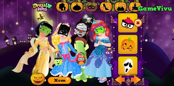 game Cong chua hoa trang Halloween hinh anh 2