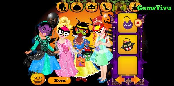 game Cong chua hoa trang Halloween hinh anh 3