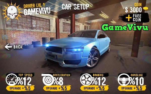 game Dua xe Asphalt 8 cho android ios