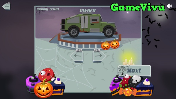 game Dua xe leo nui Halloween hinh anh 2