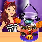Làm nến Halloween