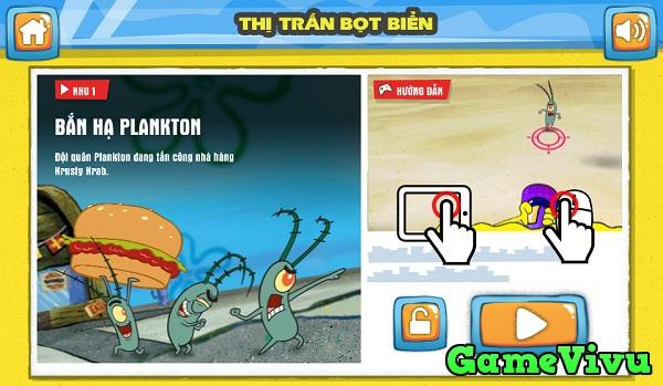 game Spongebob thi tran bot bien hinh anh 1