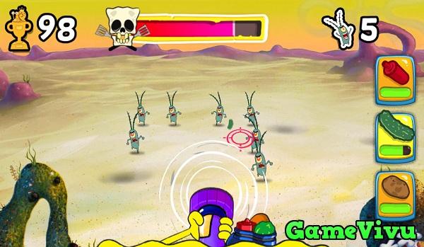 game Spongebob thi tran bot bien hinh anh 2