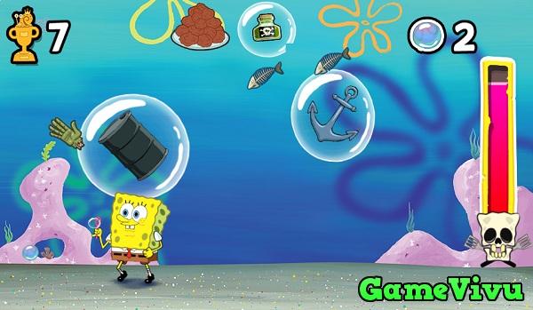 game Spongebob thi tran bot bien hinh anh 3