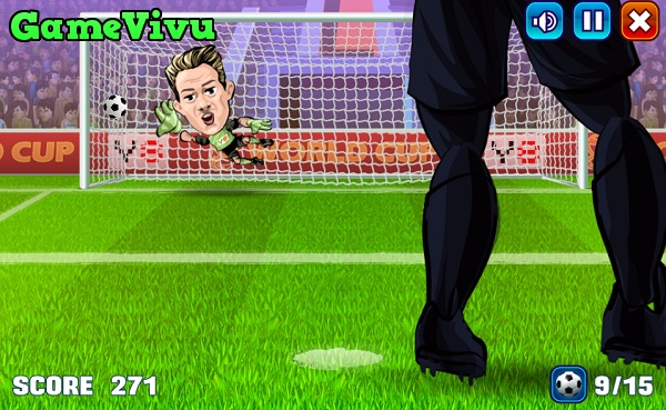 game Sut penalty Y8 hinh anh 3
