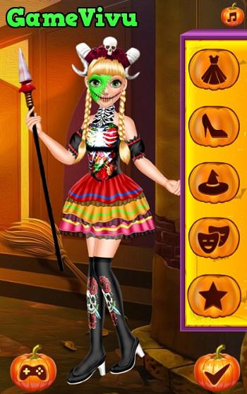 game Thoi trang Halloween cho cong chua hinh anh 1