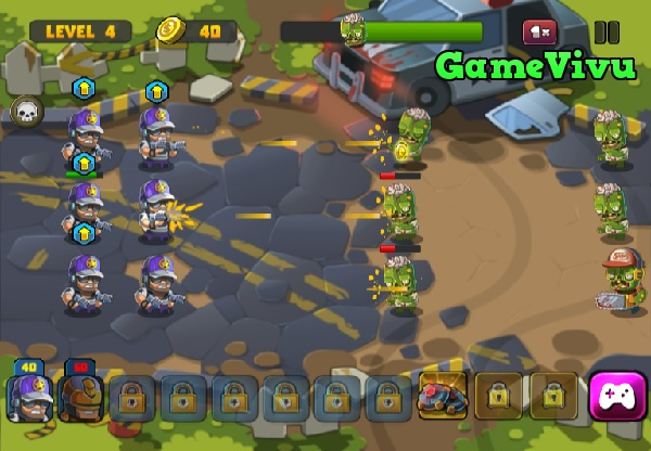game Tieu doi diet zombie 3 hinh anh 3