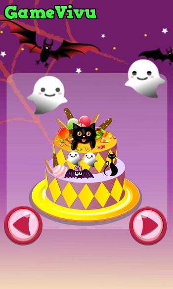 game Trang tri banh Halloween hinh anh 1