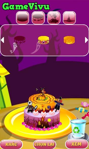 game Trang tri banh Halloween hinh anh 2