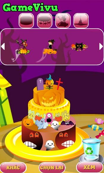 game Trang tri banh Halloween hinh anh 3
