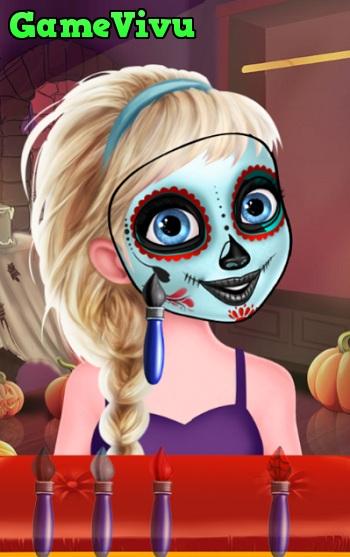 game Ve mat na Halloween hinh anh 1