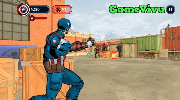 game Captain America: Chien binh mua dong hinh anh 2