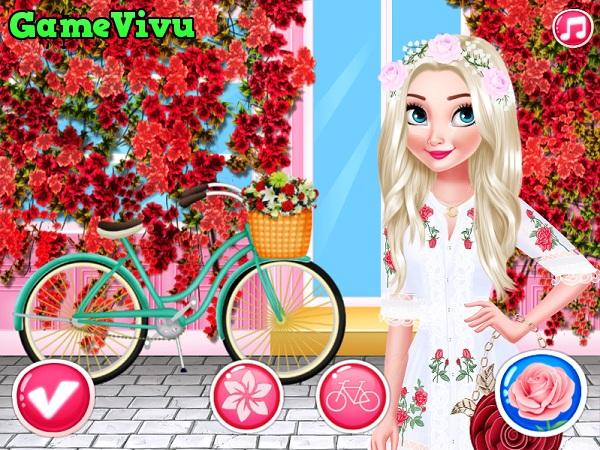 game Cong chua hoa hong hinh anh 3