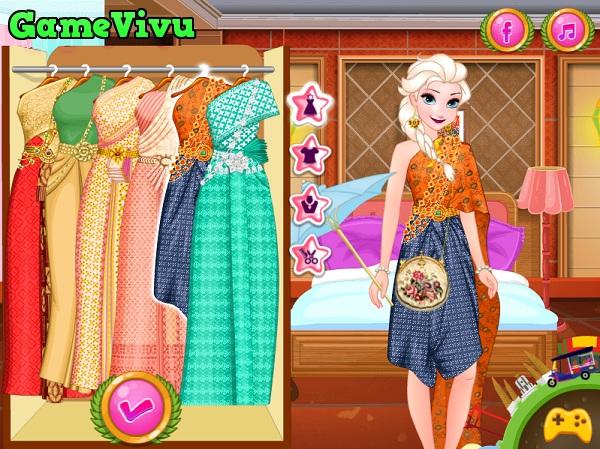 game Elsa du lich Thai Lan hinh anh 1