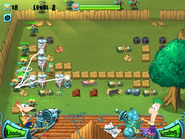 game Phineas And Ferb bao ve khu vuon hinh anh 3