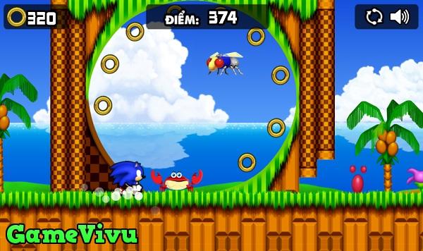 game Sonic phieu luu ky hinh anh 2