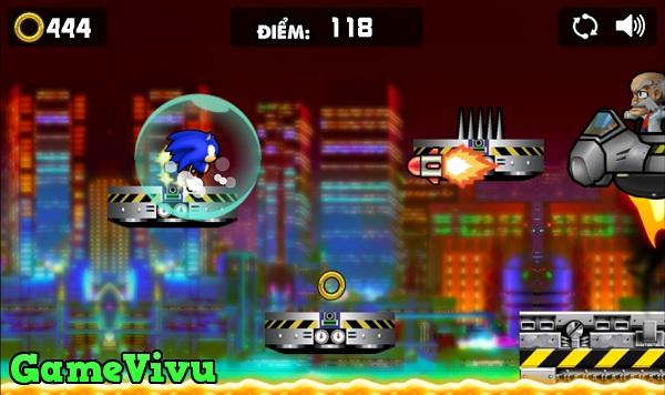 game Sonic phieu luu ky hinh anh 3