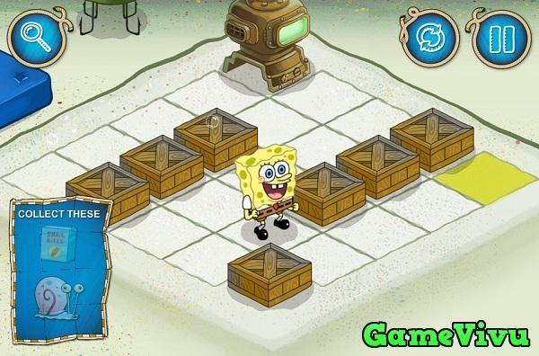game Spongebob tim duong hinh anh 1
