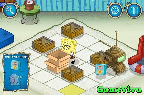 game Spongebob tim duong hinh anh 2