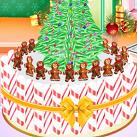Làm bánh cây thông Noel