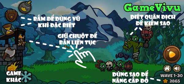 game Nha vua bao ve lau dai hinh anh 1