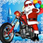 Ông già Noel đua xe