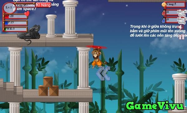 game Ton ngo khong phieu luu hinh anh 1