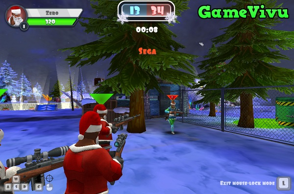 game Winter Clash 3D hinh anh 1
