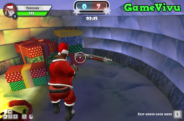 game Winter Clash 3D hinh anh 2