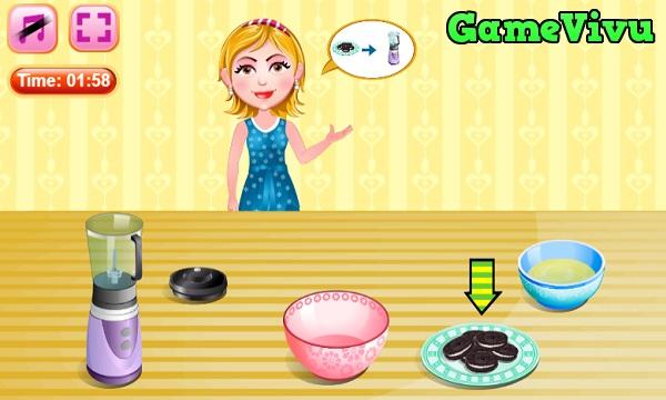 game Lam banh cupcake pho mai hinh anh 1