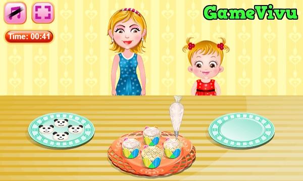 game Lam banh cupcake pho mai hinh anh 3