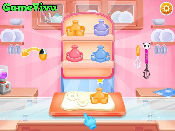 game Lam banh Donut Doowee hinh anh 1