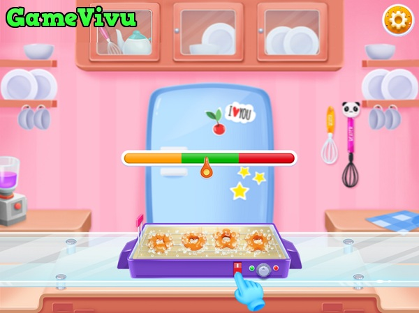 game Lam banh Donut Doowee hinh anh 2