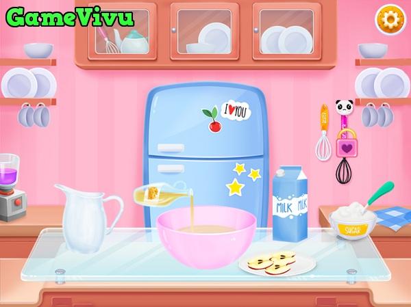 game Lam banh Donut Doowee hinh anh 3